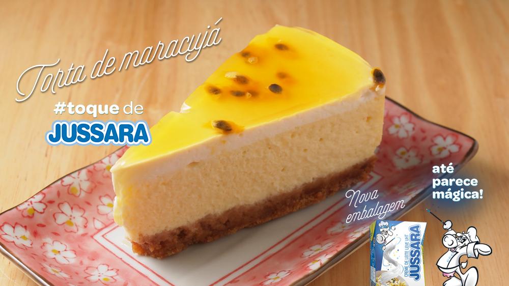 Imagem de Torta de maracujá